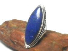 LAPIS   Sterling  Silver  925  Gemstone  RING  -  Size:  Q  -  Gift  Boxed