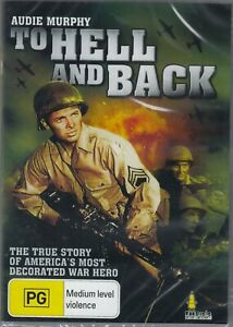 To Hell And Back -  Audie Murphy New and Sealed   DVD