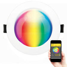 NEW Brilliant Spectrum Bluetooth Smart RGB Colour Changing 9W LED Downlight - 19