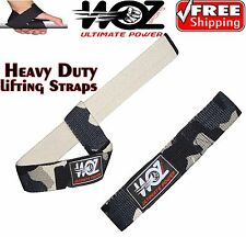 Weight Lifting Straps Power Wrist Bar Support Gym Body Bodybuilding Straps Camo
