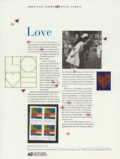 #659 37c Love Modern #3657 USPS Commemorative Stamp Panel