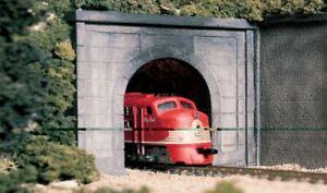 WOODLAND SCENICS O SCALE TUNNEL PORTAL CONCRETE KIT | BN | 1266