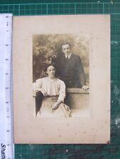 VICTORIAN PHOTO ~ COUPLE LADY & GENTLEMEN