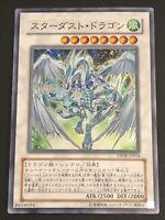 JAPANESE YU-GI-OH CARD- STARDUST DRAGON DP08-JP014 SUPER RARE- VG/EXC