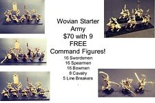 15mm Fantasy Wovian Starter Army (70 figures)