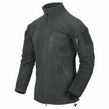 Helikon-Tex Fleece Sweatshirt Alpha Tactical Polar Grid Fleece Grau