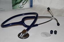 Rettungsdienst Stethoskop Stetoskop Flachkopf Premium Quality Blau Blue Bleu OVP