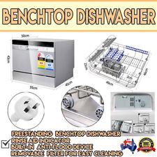 Electric Benchtop Dishwasher Machine Small Compact Dish Washer Dishwashing