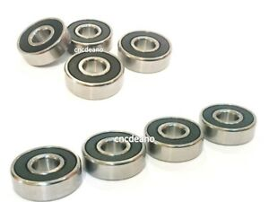8 X QUALITY REPLACEMENT PACK - BUGABOO CAMELEON FRONT & BACK WHEEL BEARINGS SET