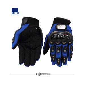 BIKER Motorcycle Motorbike Racing Riding ATV Shockproof Full Finger Gloves US
