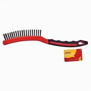 "14"" Professional Wire Brush Long Handle Rust Grill Garage Paint/Rust Remover"