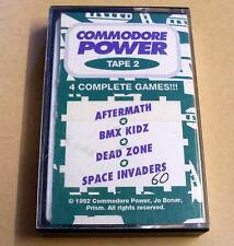 Commodore Power Tape 2 - Aftermath - BMX Kidz - Dead Zone - Space Invaders