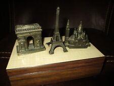 Ancienne boite a musique Reuge-monuments de Paris-air Mademoiselle Paris