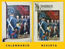 "CALENDARIO STORICO CARABINIERI ANNO 2011, CON RIVISTA ""IL CARABINIERE"" DEDICATA"