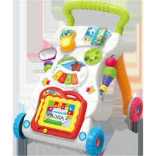 Kids Baby's Toddler Trolley Push Along Walker Early Learning Toy Gift
