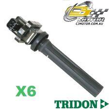 TRIDON IGNITION COIL x6 FOR Suzuki Vitara SV 04/95-12/98, V6, 2.0L H20A
