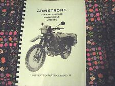 CAN-AM ARMSTRONG MT500EC CANADIAN  EDN. MILITARY MOTORCYCLE PARTS MANUAL CAN02