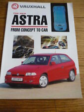 VAUXHALL ASTRA 1990/91 INTRODUCTION CAR BROCHURE