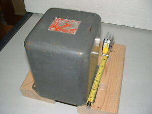 VINTAGE COLLINS 4 HENRY @ 500 ma  FILTER REACTOR (CHOKE)  RATED 2500 VOLTS