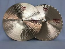 "Paiste 2002 15"" Sound Edge Hi Hat Cymbals/New With Warranty/Free Stick Bag!"