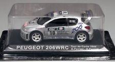 Ixo Altaya Peugeot 206 WRC - Tour de Corse 2000 Panizzi 1/43 boxed