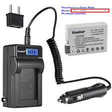 Kastar Battery LCD AC Charger for Canon LP-E8 LC-E8 & Canon EOS Kiss X4 Camera