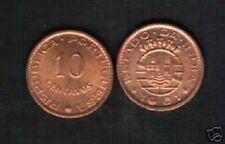 PORTUGUESE INDIA 10 CENTAVOS KM30 1961 UNC CURRENCY INDIAN COIN PORTUGAL 10 PCS