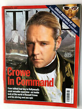 TIME Asia edition NOV.24,2003  Russell Crowe, The Strokes, Steve Jobs and music