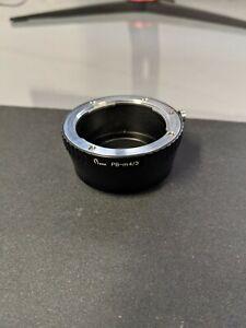 Pixco Praktica PB Lens To Micro 4/3 M43 mount Adapter