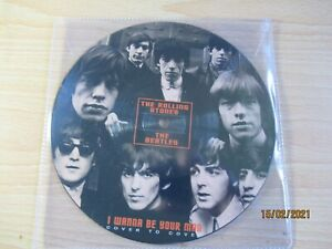 """The Beatles/Rolling Stones - I Wanna Be Your Man (Reel To Reel) 7"""" Picture Disc"""