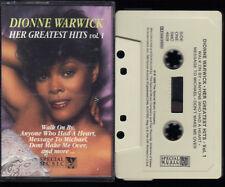 Dionne Warwick Her Greatest Hits Vol. 1 (Walk On By etc) Best Of MC Kassette 076