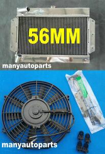 Aluminum Radiator for MG MGB GT / ROADSTER TOP-FILL 1968-1975 1969 1970 71 + FAN