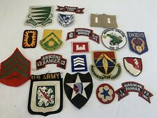 20 Original US Military Patches