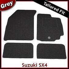 Suzuki SX4 Mk1 2006-2014 1-eyelet Tailored Fitted Carpet Car Floor Mats GREY