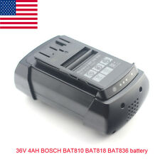 4000mAh 36V Li-ion Power Tool Battery for  Bosch D-70771 BAT840 BAT836 BAT8181