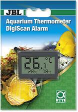 JBL DigiScan Alarm Aquarium Thermometer Digitales Klebethermometer mit Alarm