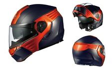 OGK KABUTO KAZAMI FLAT BLACK/ ORANGE M Medium  Helmet Japanese Model
