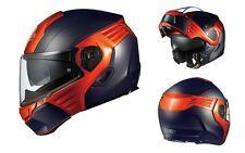 OGK KABUTO KAZAMI FLAT BLACK/ ORANGE M Medium  Helmet Japanese Model