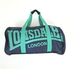 Lonsdale Blue Gym Bag Turquoise Detail Small