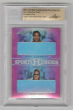 RICKY STEAMBOAT / JIMMY HART 2017 Leaf Metal Sports Heroes PROOF 1 of 1 BGS 1/1