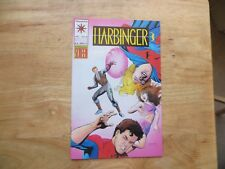 1993 VINTAGE VALIANT HARBINGER # 18 SIGNED BY HOWARD SIMPSON WITH COA