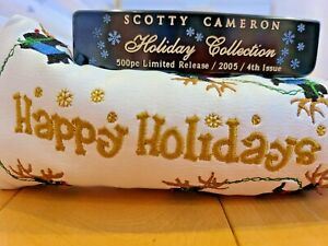 Scotty Cameron 2005 Limited Release Circa 62 No.1 Holiday Collection Putter