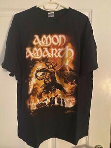 Amon Amarth T-Shirt Gr. XL / Europe Tour 2011 - ungetragen