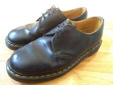 Vintage DOC Dr Martens Oxford Shoes Mens 8 Made In England Black Leather