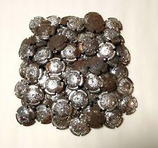 lot de 100 capsules de champagne à encoches n° 160a métal cote 500 euros !