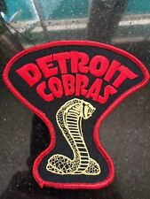 Detroit Cobras Embroidered Patch