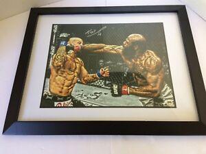 Kimbo Slice Signed & Framed 11x14 Photo w/ COA UFC 10 Autograph Boxing