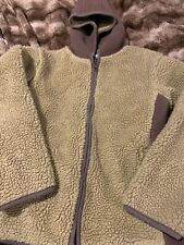 Gymboree Size 6 Boys Faux Wool Jacket Hooded Zipper Zip Up