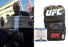 Dana White Signed Autographed UFC Fighter Glove MMA Exact Proof Beckett BAS Cert