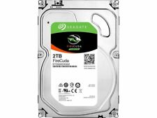 """New Seagate 2TB FireCuda Gaming 3.5"""" SSHD Solid State Hybrid Drive ST2000DX002"""